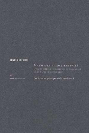 Mathesis et subjectivité: pointu, ardu