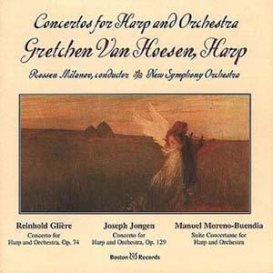 Gretchen Van Hoesen, superbe Harpe Principale de l'Orchestre Symphonique de Pittsburgh