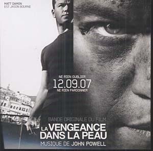 John Powell de nouveau dans la peau de Jason Bourne