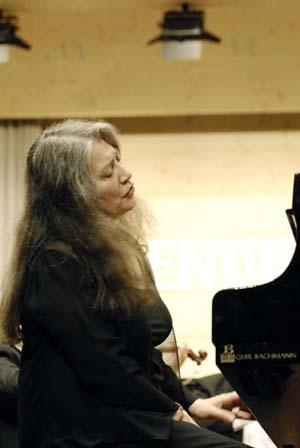 Martha Argerich, routine et savoir-faire