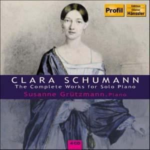 Une belle intégrale de l'œuvre pour piano de Clara Schumann