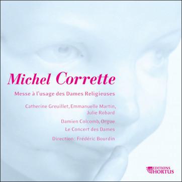 Michel Corrette_Le Concert des Dames_Frederic Bourdin_Editions Hortus