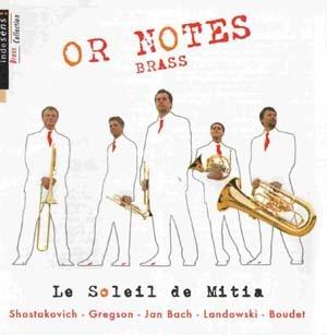 Avec Or Notes Brass, les cuivres sont de sortie