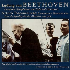 Arturo Toscanini, royal dans Beethoven