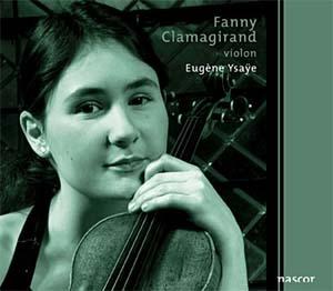 Fanny Clamagirand  Sonates pour violon seul?Pas si sur