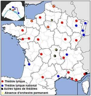 I. La répartition géographique