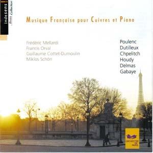 Musique française pour cuivres et piano