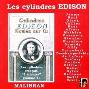 Edison et l'archéologie sonore en France