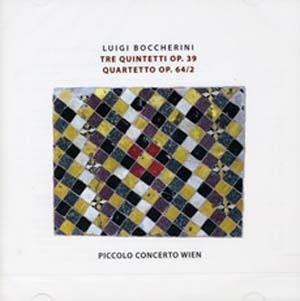 Quintettes de Boccherini: fraîcheur et « flamboyance »