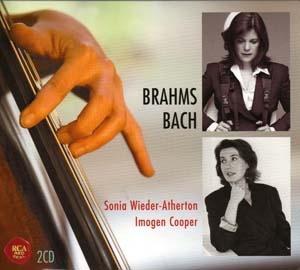 Brahms et Bach pour violoncelle et piano: un enregistrement déséquilibré.