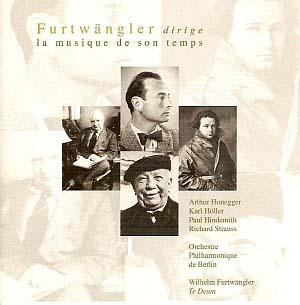 Quand Wilhelm Furtwängler dirige ses contemporains