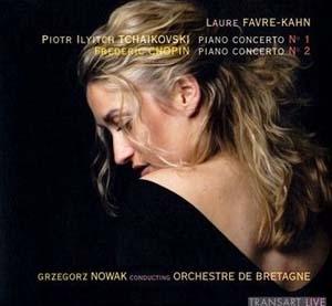 Laure Favre- Kahn séduit dans Tchaïkovski et Chopin