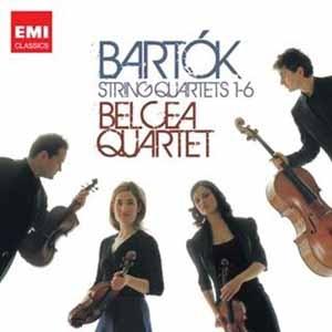 Intégrale des quatuors de Bartók