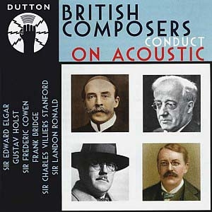 British composers conduct
