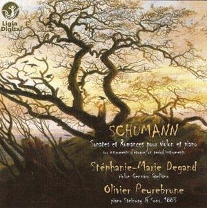 Schumann, sonates pour violon: l'échappée belle