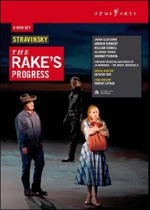 The Rake's Progress, comme à la télé!