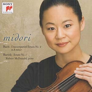 Quand Midori interprète Bach et Bartók