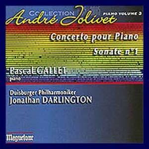Concerto pour piano de Jolivet, coup de coeur!