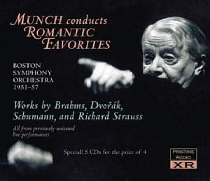 Charles Münch, dans la plus pure tradition romantique
