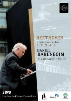 Intégrale des concertos pour piano Beethoven / Barenboim: bof!