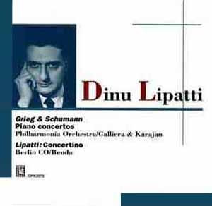 Dinu Lipatti, ses enregistrements concertants de studio