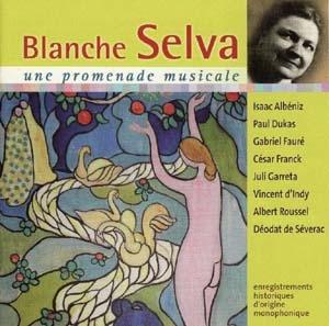 Promenade musicale avec Blanche Selva: un doux parfum d'antan…