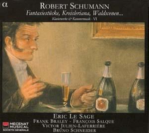 Intégrale Schumann / Éric Lesage, volume VI: intégralement splendide.