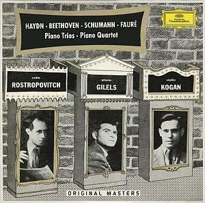 Retour au disque du prestigieux Trio Guilels-Kogan-Rostropovitch