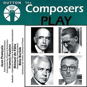 Enregistrements précieux de compositeurs au clavier