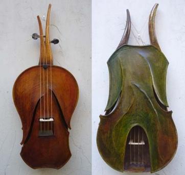 XIV. Du jeu dans le violon …