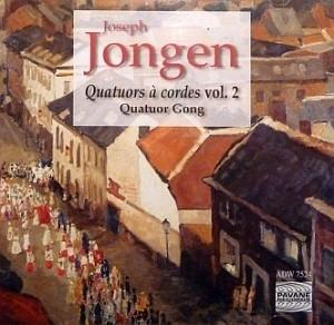 Un des meilleurs quatuors à cordes actuels dans du Jongen