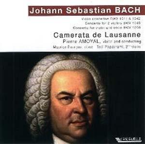 Doubles de Bach en mineur mais vraiment majeurs
