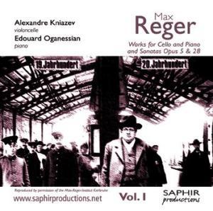 Le violoncelle selon Reger, premier volet