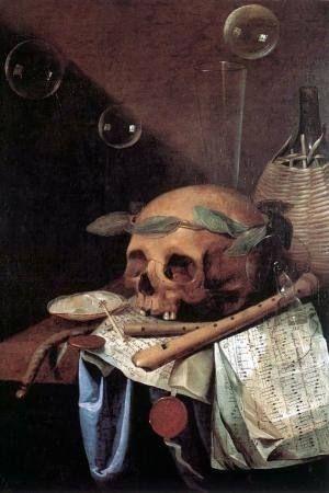 Vanitas: Morte est la mort, ah si seulement...