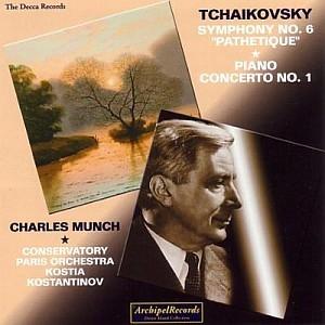 Charles Münch ardent interprète de Tchaïkovski