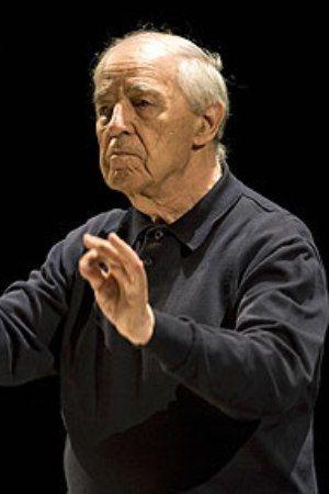 Pierre Boulez dirige à la Basilique Saint Denis