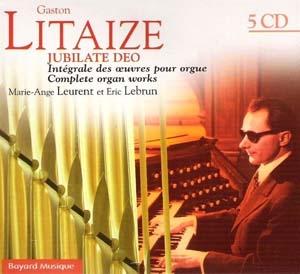 Première intégrale d'un grand maître de l'orgue français.