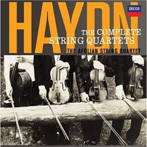 Première intégrale moderne des Quatuors à cordes de Haydn