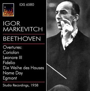 Igor Markevitch dirige des ouvertures de Beethoven