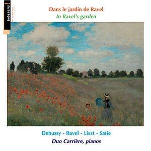 Satie, Debussy, Ravel et Liszt pour piano quatre mains