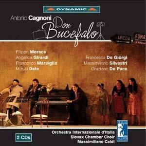 Antonio Cagnoni: la vitalité de l'opéra bouffe