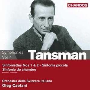 Tansman, Chostakovitch de l'Ouest?