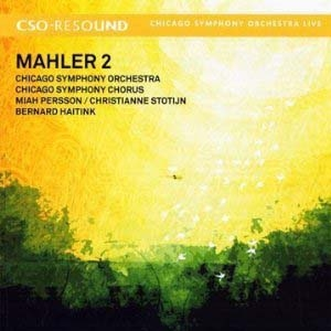 Retour à Mahler!