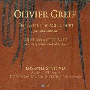 Dans les cordes d'Olivier Greif