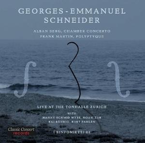 Le violoniste Georges-Emmanuel Schneider au disque