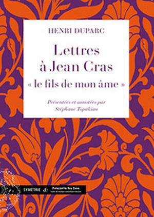 Correspondance Duparc / Cras