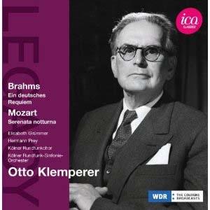 Brahms par Klemperer à Cologne
