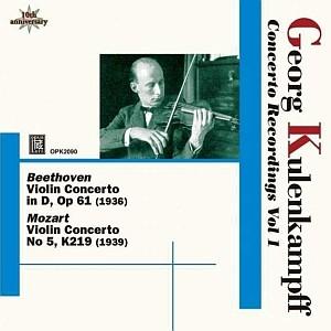 Opus Kura épanouit le violon de Georg Kulenkampff