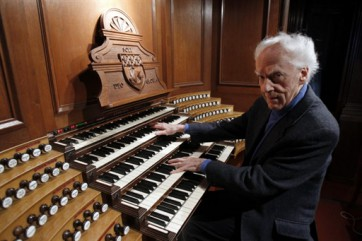 FRANCE-MUSIC-ORGAN-GUILLOU