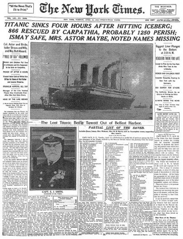 titanic-sinks-new-york-times